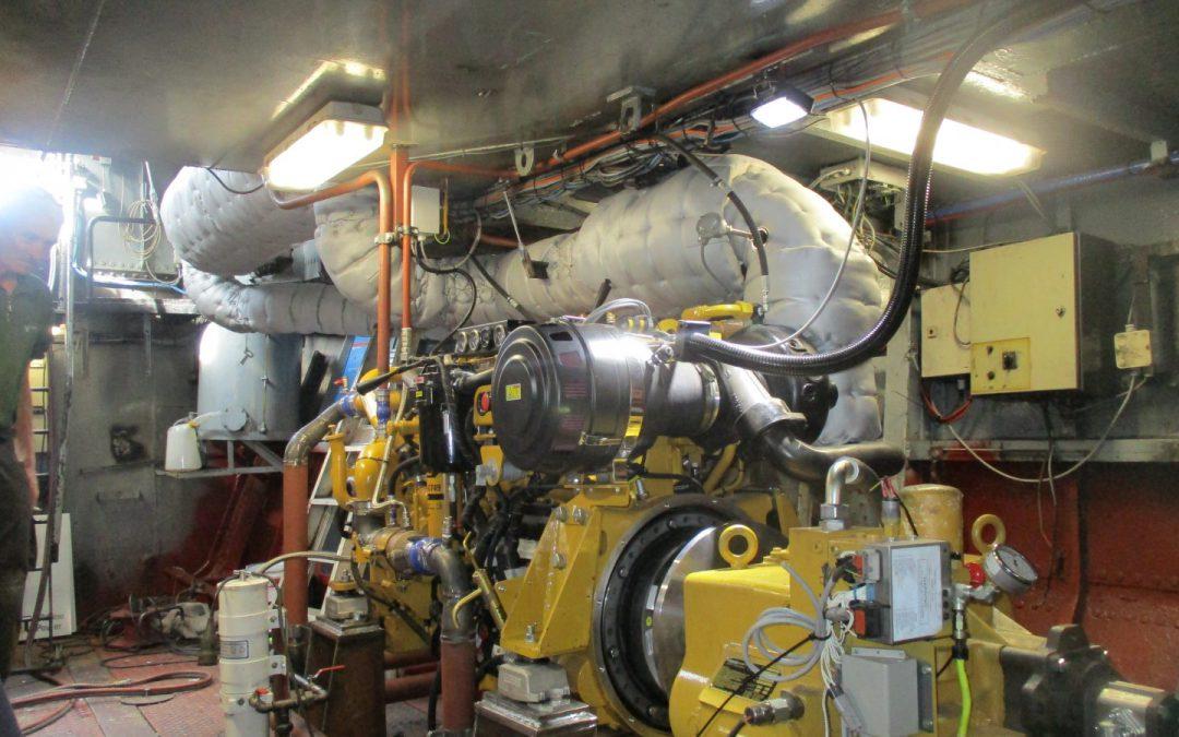 Isolatiematras | Doel: thermische en akoestische isolatie voor duwboot