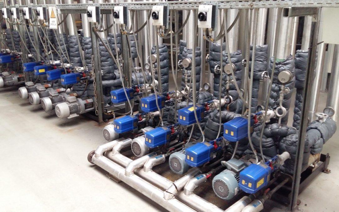 Thermische olie-installatie