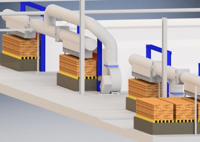 Luchtsystemen - Ventilatie - Geforceerde steen-koeling
