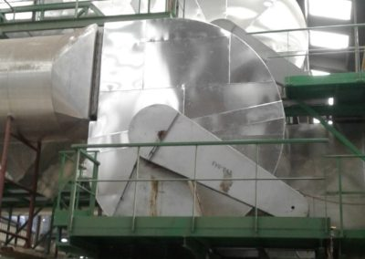 Rookafgasventilator | Doel: Afgassen hete-lucht ovens